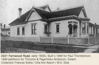 Victoria Heritage Foundation Fernwood History