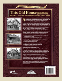 Victoria heritage foundation this old house vol 1 for Classic house volume 1
