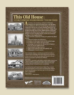 This Old House Vol. 3 back